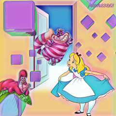 freetoedit dailysticker opendoor aliceinwonderland blocks