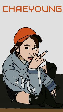 chaeyoung drawing mydrawing art myart freetoedit