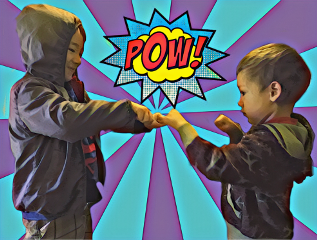 freetoedit boys pow fight