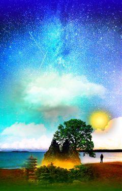 freetoedit art surrealism surreal sky