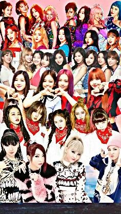 Blackpink And Twice Wallpaper