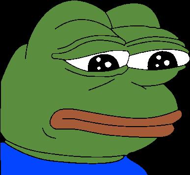 pepethefrogmeme meme sad pepe tumblr lonely thinking
