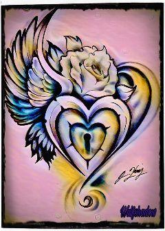 pastelmagiceffect hearttattoo pininterest