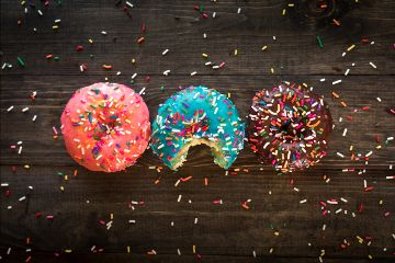 freetoedit donuts yummy sweet dessert