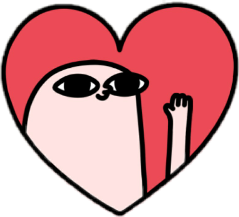 Top 9 Best Derpy Animal Stickers 2019: Ketnipz Heart Redheart Instagram Cool Kawaii Picsart