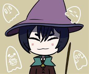 mydrawing chibi cute halloween ghosts freetoedit