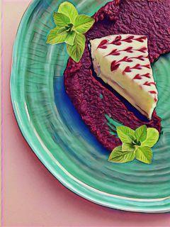freetoedit dessert cheesecake scrumdiddlyumptious floramagiceffect