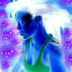 galaxyhair bluswan galactic💙 freetoedit galactic