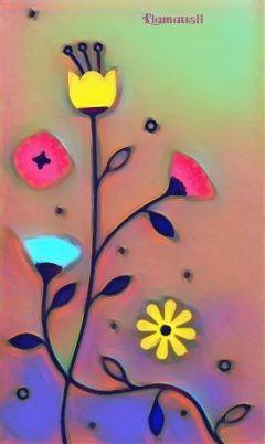 freetoedit myownpic flower bloom art