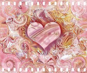 hearts brokenglass