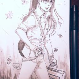 myart inkart sketchbook elves silmarillion