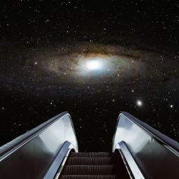 freetoedit space galaxy collage surreal