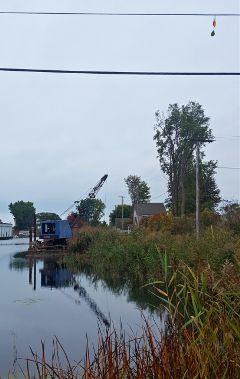 reflections barge crane freetoedit
