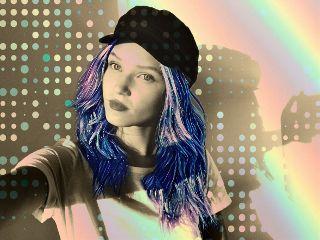 freetoedit sepiafilter galaxymagiceffect galaxyhair rainbowlight