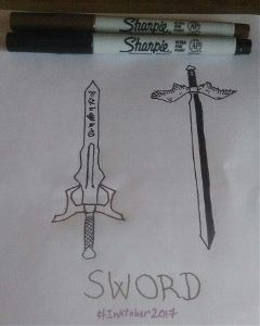 inktober2017 sword shadowhunters soulsword thesoulsword