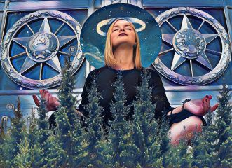 freetoedit meditate forest halo