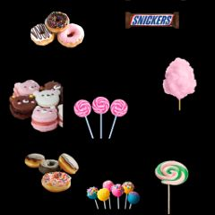 freetoedit snickers donuts cakepops candys