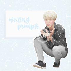 bts jimin kpop prompts writing