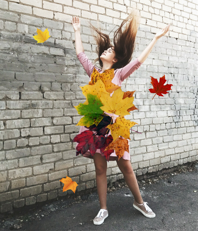 #freetoedit #leafdress