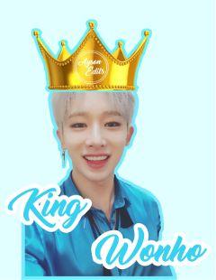 king wonho monstax lightblue