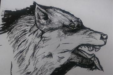 inktober inktober2017 goretober17 goretober wolf