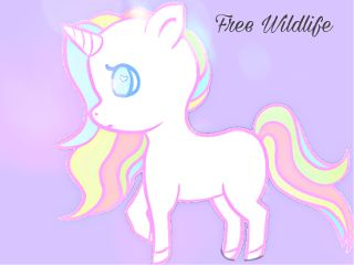 stickermoodboard freetoedit wildlife free unicorn
