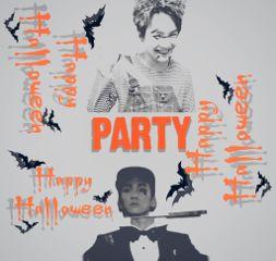 freetoedit kpop party happyhalloween bts