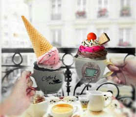 freetoedit coffee remixdiario paris helado