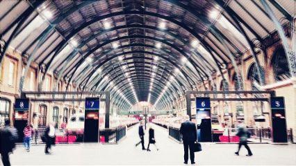 freetoedit kingscross london train