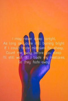 trademistakes panicatthedisco lyrics orange purple