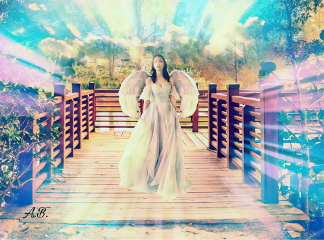 freetoedit remixedwithpicsart angel fantasy surrealism