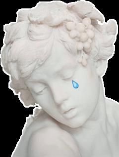 art cry escultura tumblr aesthetic freetoedit