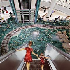 scalator editedbyme myphotography mall people freetoedit