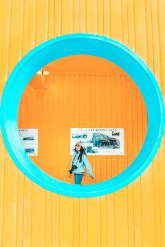 freetoedit yellow people urban colorfull