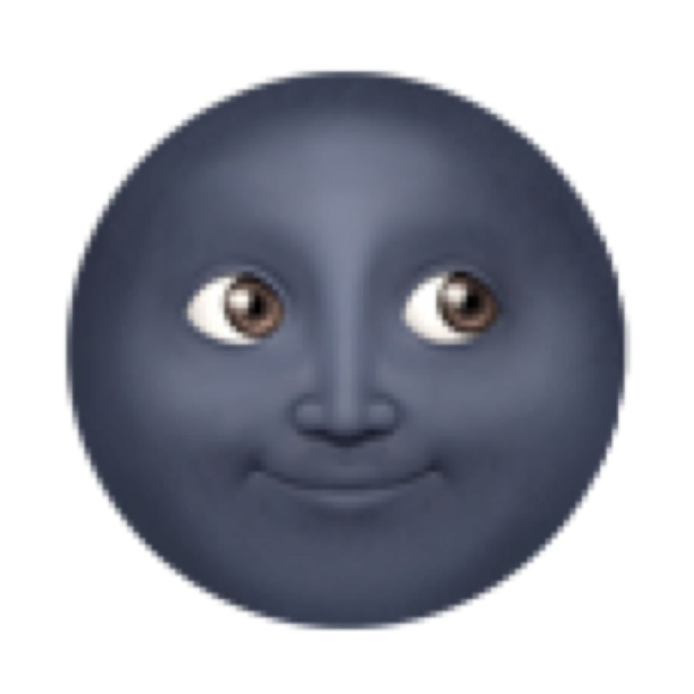 moon emoji moonemoji blackmoon black dark darkmoon ��fr