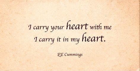poem eecummings lovely heartlove sweet