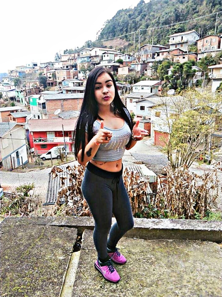 young colombian girl