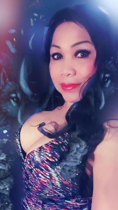 selfie gothic madewithpicsart picsart freetoedit