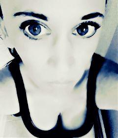 freetoedit blueeyes skin blackandwhite blackandwhitephotography