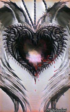 crushedmarblemagiceffect heart
