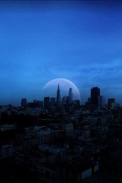 moonremix freetoedit yesi_502 interesting moonlight