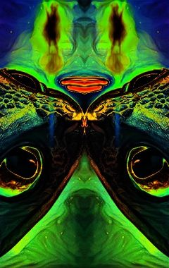 abstract trippy toothless dragon eyes freetoedit