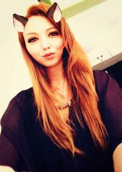 freetoedit love redhead girl snapchat