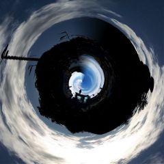freetoedit tinyplanet remix upsidedown photo