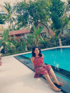 holiday trip villa pool photography