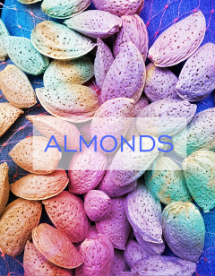 freetoedit almonds colorful