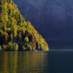 autumn sea nature landscape travel