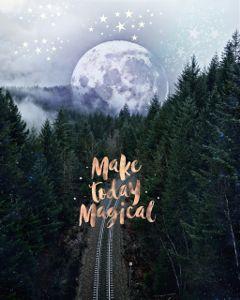 freetoedit magic moon stars sky