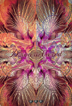 dreamland abstract pattern colorful mirroreffect