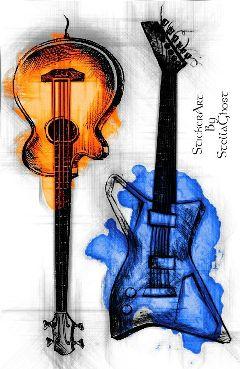 drawing paint art artistic music